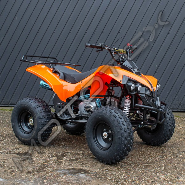"Keturratis 8"" 125cc QWATV-02FR (oranžinis)"