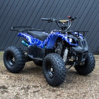 "Keturratis 8"" 125cc QWATV-02CN (mėlynas)"