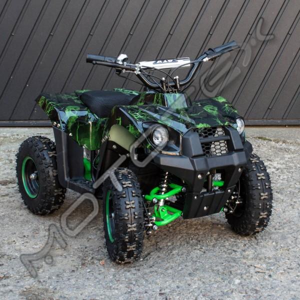 Keturratis elektrinis ATV-E800-2 (žalias)