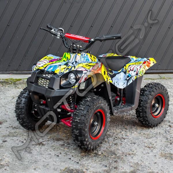 Keturratis elektrinis ATV-E800-2 (geltonas)