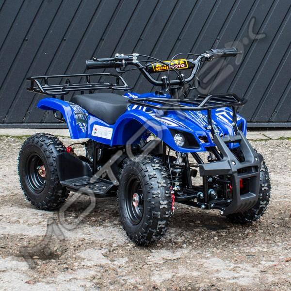 Keturratis elektrinis QWE800 (mėlynas)