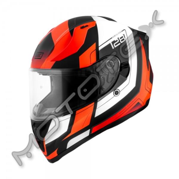 Šalmas ORIGINE Strada Advanced (oranžinė/juoda) M