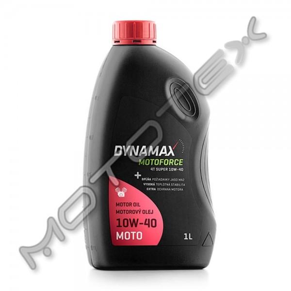 Alyva pusiau sintetinė DYNAMAX MF 4T SUPER 10W-40 1L