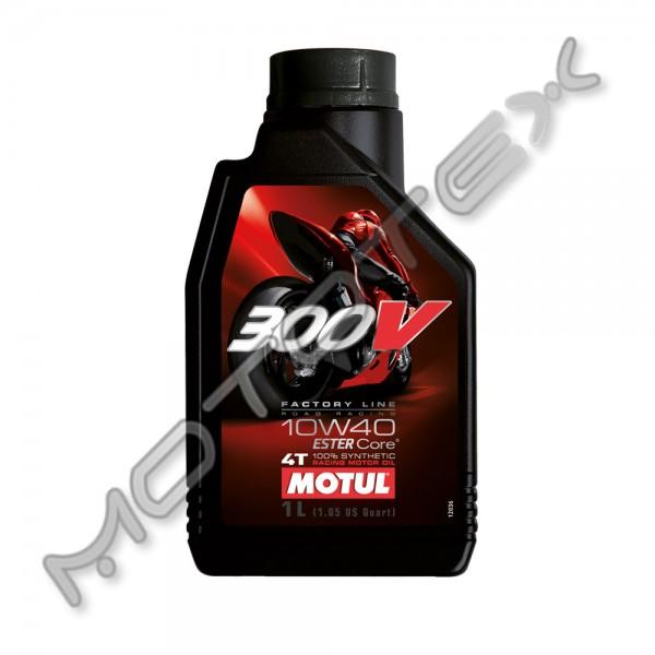 Alyva MOTUL 4T sintetinė 300V 10W-40 FL 1l