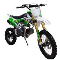 """Motociklas Krosinis ABT DB125 CRF110, 125cc 14"""" - 17"""" (žalias)"""