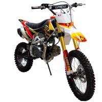 """Motociklas Krosinis ABT DB125-CRF110, 125cc 14"""" - 17"""" (raudonas)"""