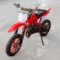 Motociklas krosinis QWMPB-02 (raudonas)