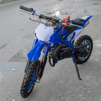 Motociklas krosinis QWMPB-02 (mėlynas)