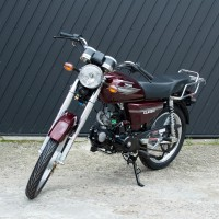 Mopedas OGAR 202 50cc (raudonas)
